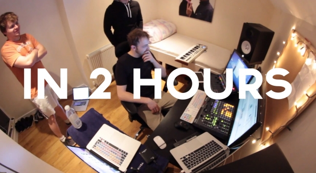 Creative Process In Our House: Creating Dubstep Song In 2 Hours