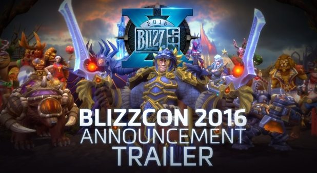 Heroes of the Storm: BlizzCon 2016 Announcement Trailer (Work: Music Remixing)